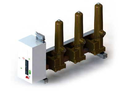 SF6 Gas Insulated Circuit Breaker